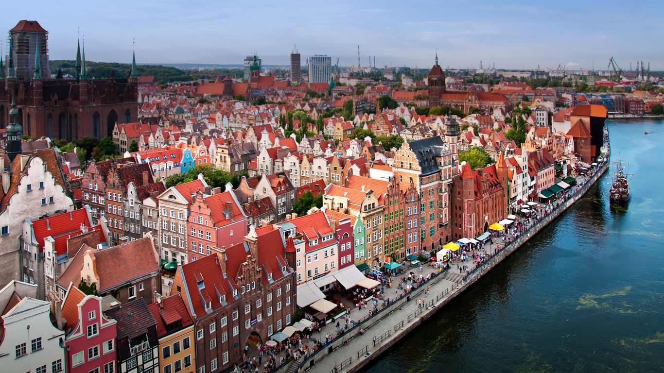 Гданьск — великолепный средневековый город
