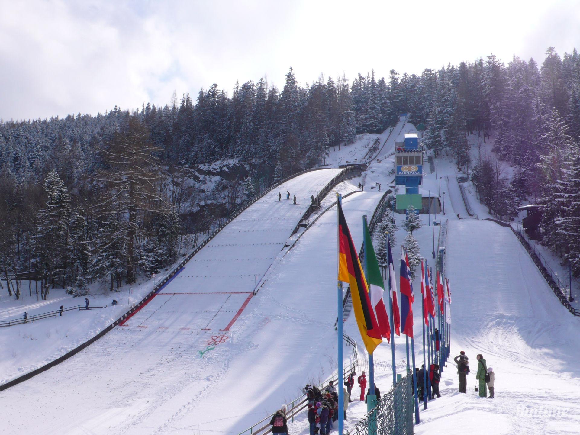 Закопане — центр горнолыжного спорта и туризма Польши