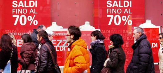 Зимние распродажи в Италии 2014