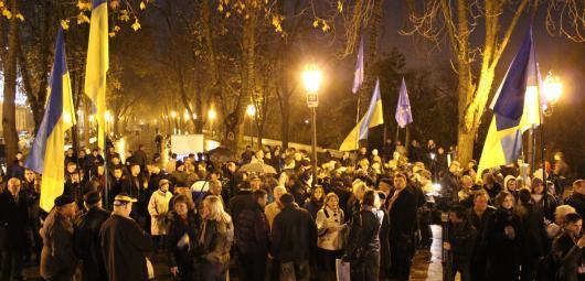 «Евромайдан» «привлекает» туристов из России