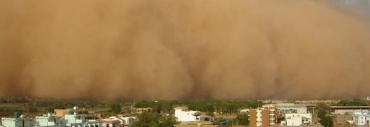 Пыльная буря в США привела к смертельному ДТП