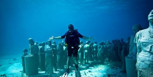 Подводный музей в Доминикане