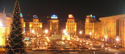 Елка в Киеве будет стоять у арки Дружбы народов