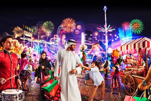 Дубай встретит по-королевски этой зимой