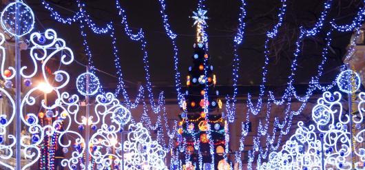 Рождественская ярмарка в Петербурге 2014 заработала