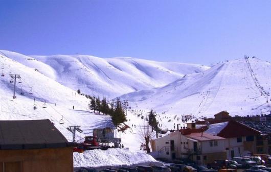 Покататься на лыжах теперь можно и в Ливане