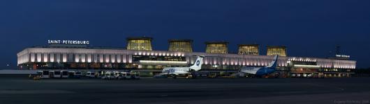Новый терминал Пулково начал работу