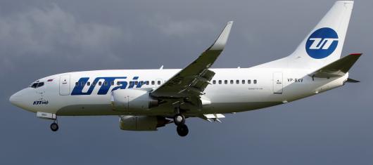 Сильные морозы в Тюмени помешали вылету самолета «ЮТэйр»