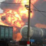 Пожар на железной дороге в Кирове полностью ликвидирован