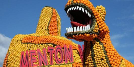 Фестиваль лимонов в Ментоне 2014 года посвящается Жюлю Верну