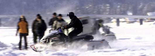 Первая в России снегоходная трасса будет построена на Урале