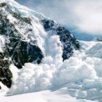 Опасность схода лавины на Сахалине
