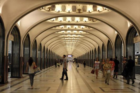 Московское метро не забыло про день Святого Валентина