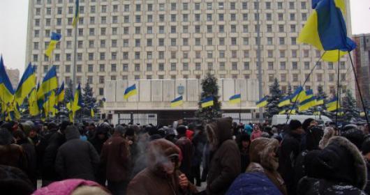 Беспорядки в Киеве сегодня продолжаются