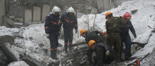Обрушение крыши в Москве