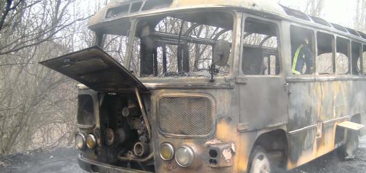 В автобусе с калининградскими туристами произошел пожар