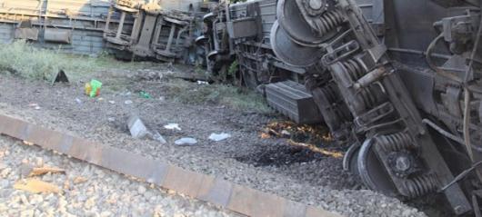 Под Златоустом в результате схода вагонов повреждено 700 метров путей