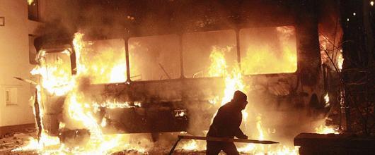 Беспорядки в Киеве привели к гибели человека