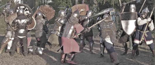 Военно-исторический фестиваль в Рязани