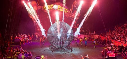 Цирк в Монако 2014 собрал зрителей со всего света