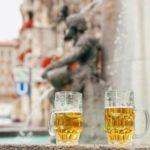 В Словении появился пивной фонтан