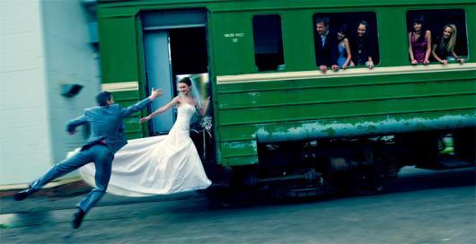 Первый «Свадебный поезд» отправляется в путь