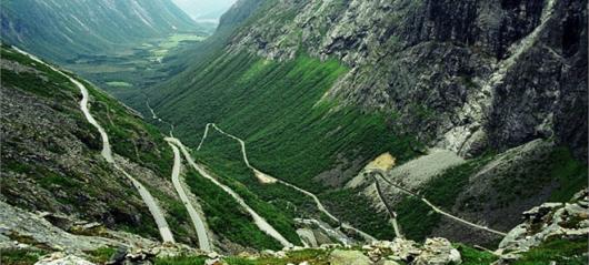 «Лестница троллей» названа самой опасной дорогой